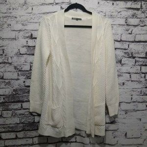 89th & Madison Open Front Cardigan with Pockets